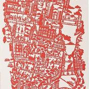 NYC Paper Cut Map