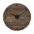Industrial Clock Eclectic Clocks By Domayne Online