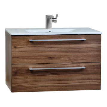 ... soft-closing drawers with damping technology, and a crisp clean