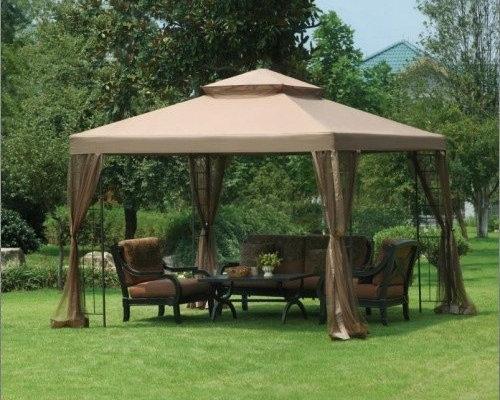 Big Lots 10x10 OPP Gazebo Replacement Canopy Fabric