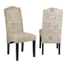 Dining room fabric chairs