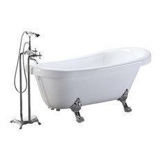 Modern bathtubs houzz for Soaker tub definition