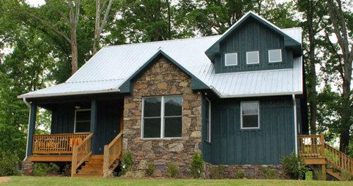 Mountain Craftsman 2 Story House Plan