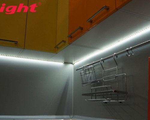 Светодиодная лента для кухни как установить