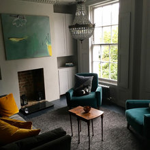 Victorian Home - Living Room