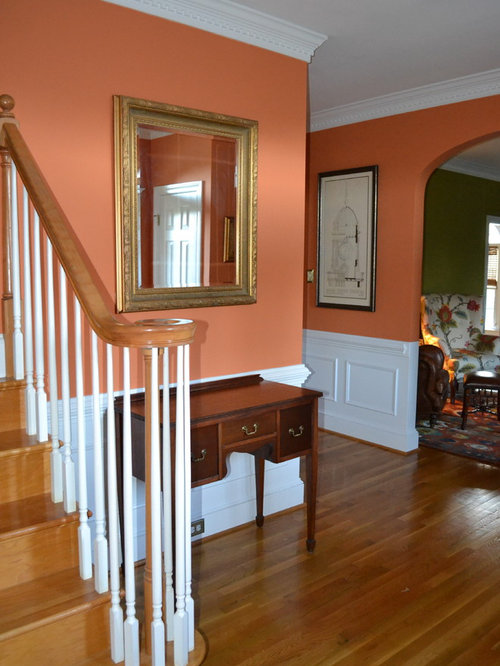 Foyer Entry Example : Transitional foyer design ideas remodels photos with