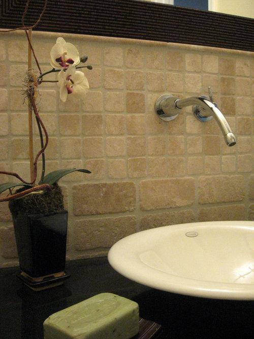 Asiatische badezimmer mit marmor waschtisch ideen f r die for Badezimmer ideen asiatisch