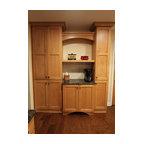 Echelon Trevino 5 Pc In Slate Transitional Kitchen