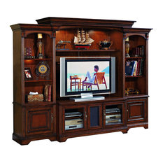Traditional Entertainment Center Distressed Entertainment Centers and TV Stands | Houzz
