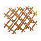 panda bamboo wine rack baumhaus wine rack lamp table