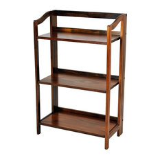 70 39 s style home contemporary bookcases find wood bookcases and metal bookshelves online Home decorators collection kelman 3 shelf bookcase in walnut