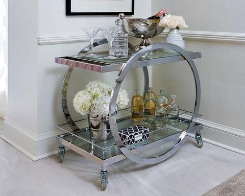 Contemporary food trolley home design photos decor ideas - Deco bar design ...