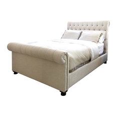 Elements Home Furnishing Roll Bed In Seashell Queen  In L X
