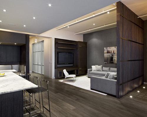 wood slat room divider home design ideas pictures