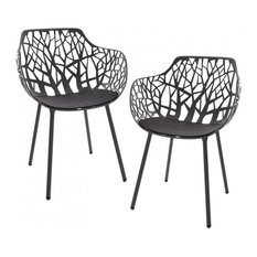 eklektische gartenst hle terrassen und balkonst hle. Black Bedroom Furniture Sets. Home Design Ideas