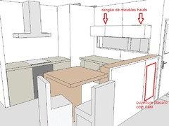 Votre avis pour ouverture cuisine - Hauteur d une hotte par rapport au plan de travail ...
