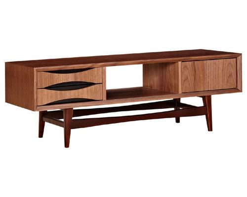 mid century tv stands. Black Bedroom Furniture Sets. Home Design Ideas