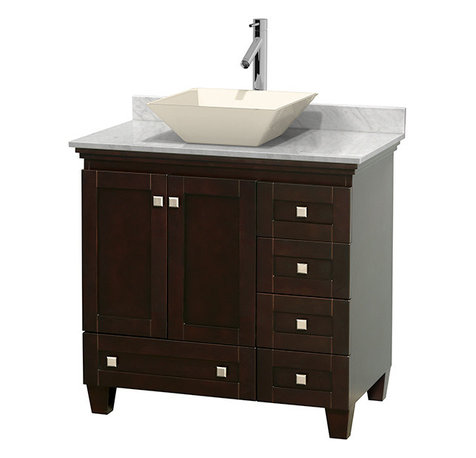 ... hardware, resulting in a timeless piece of bathroom furniture. The