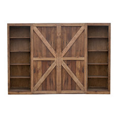 FoxDen - Hayes Sliding Barn Door TV Console - This gorgeous t.v console is made from reclaimed ...