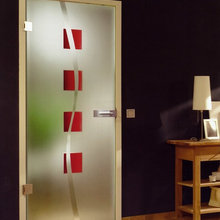 NIVADA PAINTED GLASS DOOR DESIGN
