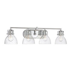 Seeded Glass Vanity Light Shade : Bathroom Vanity Lights with a Clear Shade Houzz