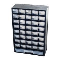 Stalwart  Compartment Hardware Storage Box Garage And Tool