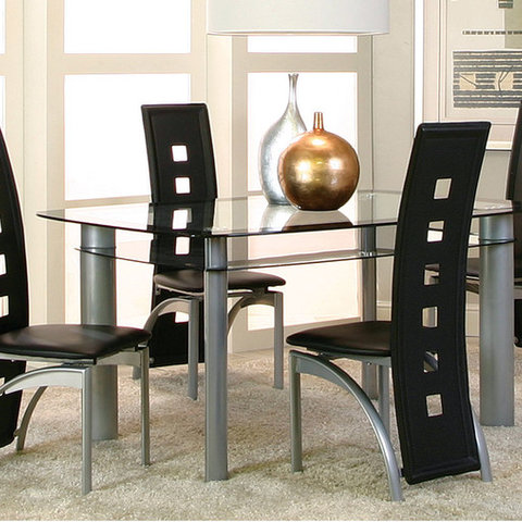 Valencia 5 Piece Dinette Set Modern Columbus By American - American Freight Dining Room Sets