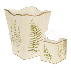 Tropical wastebaskets houzz - Elegant wastebasket ...