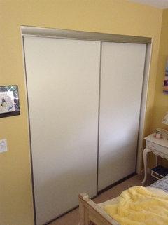 alternatives to accordion closet doors. Black Bedroom Furniture Sets. Home Design Ideas