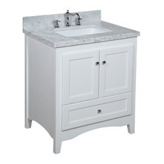includes a white Shaker-style cabinet with soft close drawers and self ...