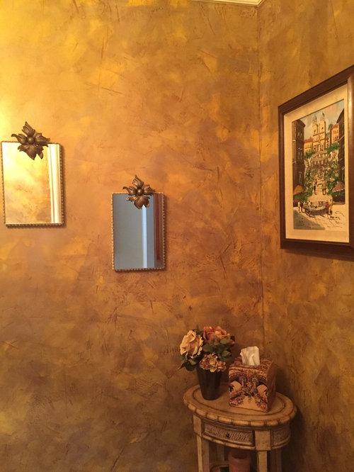 Venetian plaster bathroom kitchen for Venetian plaster bathroom ideas