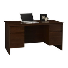 professional look to your office with this great-looking desk from