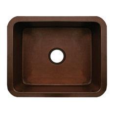 Whitehaus Bronze Copperhaus Rectangular Undermount Sink
