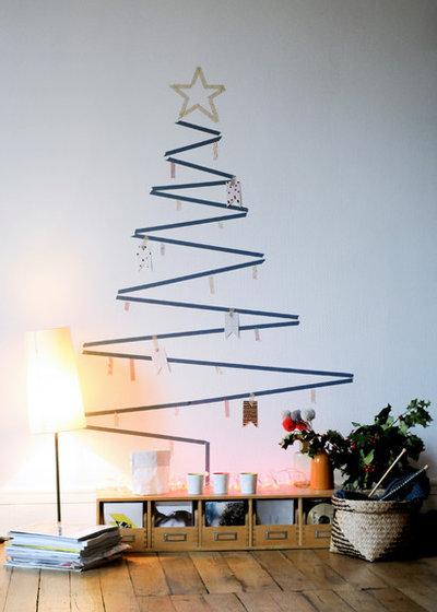 17 kreative alternativen zum klassischen weihnachtsbaum. Black Bedroom Furniture Sets. Home Design Ideas