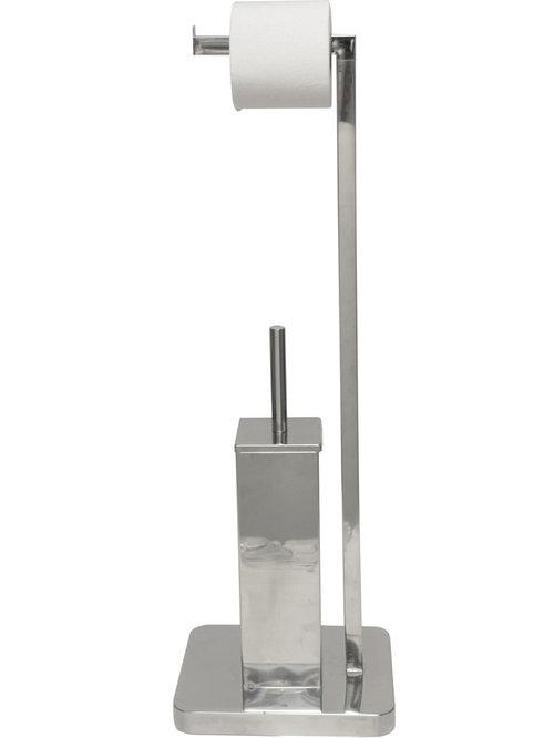 bathroom toilet brushes and holders houzz. Black Bedroom Furniture Sets. Home Design Ideas