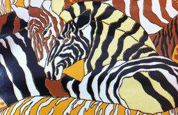 Vintage Wallpaper, African Safari Animals by Vintage Baron