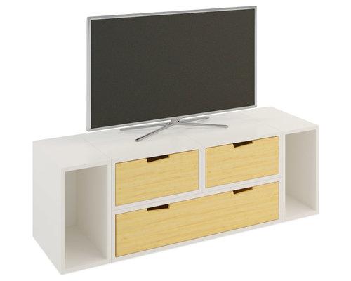 Meuble TV Brick - Solution Média et Meuble TV