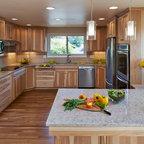 Silestone quartz quasar kitchen countertops portland for Karen linder interior designs