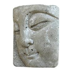Anson Design Co Small Concrete Buddha Decorative Object