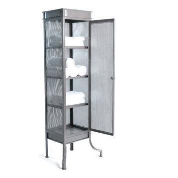 Industrial Bathroom Floor Cabinet With Drawer Bathroom ...