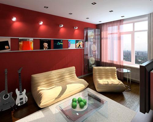 Mezzanine Living Room Design Ideas Renovations Amp Photos