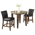 Linon Home Decor 5 Piece Space Saver Table And Chairs Set
