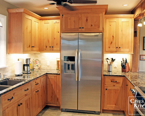 Knotty Pine Cabinets Home Design Photos