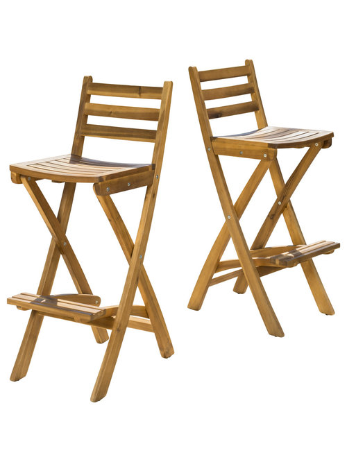 great deal furniture atlantic outdoor folding wood bar stools set