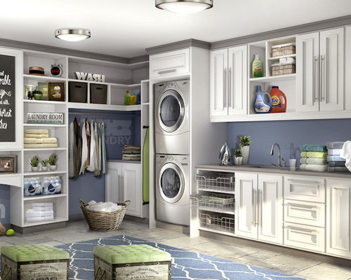 Laundry Room Organization Home Design Ideas, Pictures, Remodel and Decor