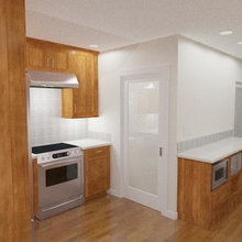 Berkeley Thousand Oaks Craftsman Transitional Kitchen