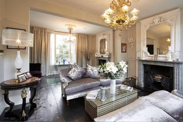 Traditional Living Room by Landmark Lofts