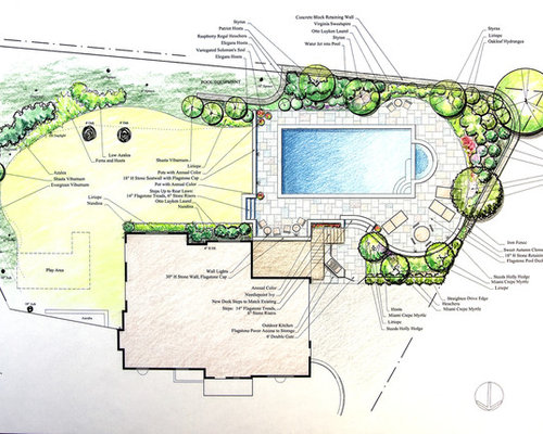 Swimming pool project for Swimming pool site plan
