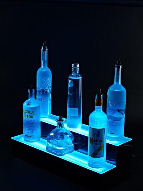 home liquor display