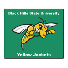 Black Hills State Tailgater Rug 5 x